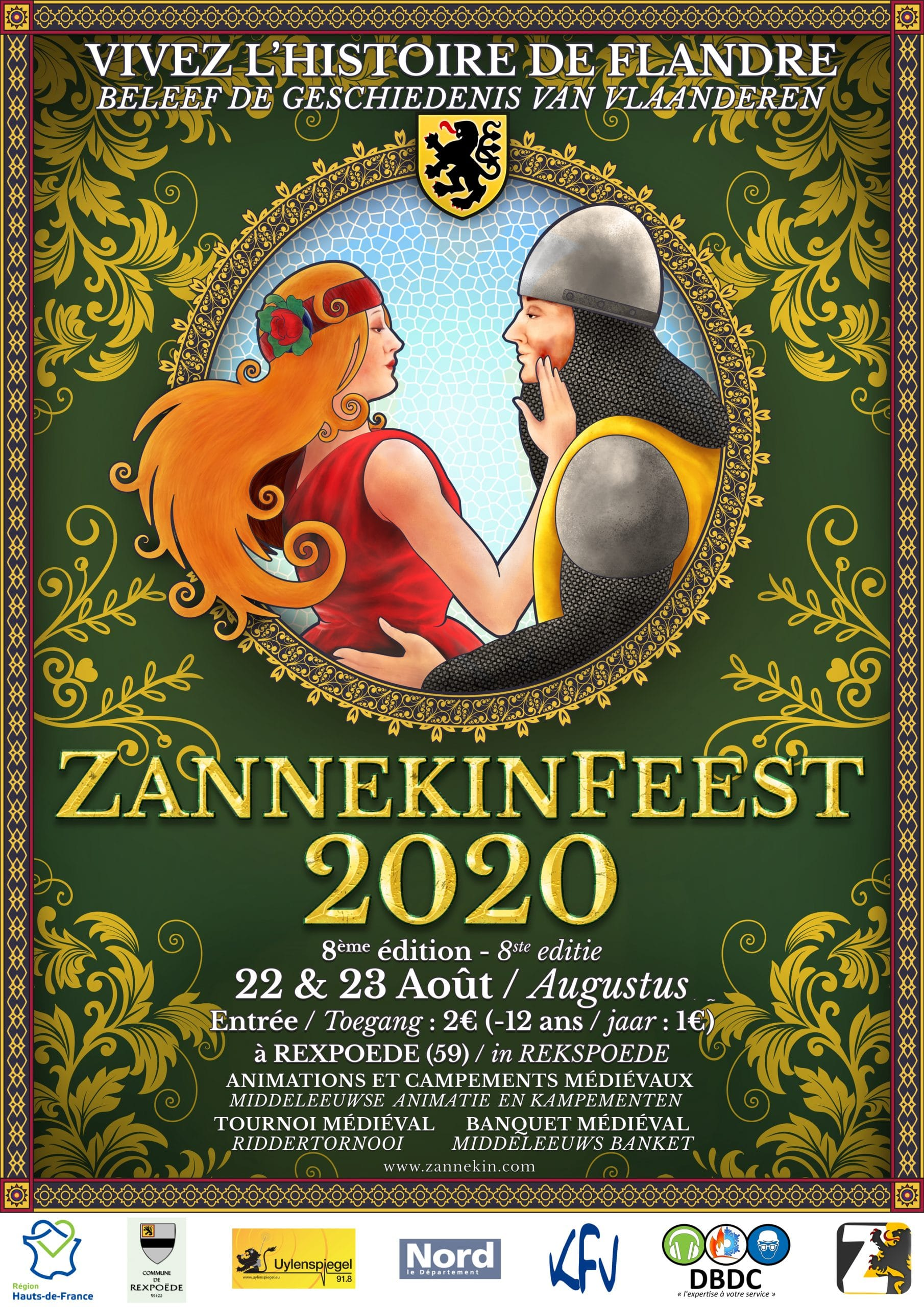 Affiche Zannekinfeest 2020