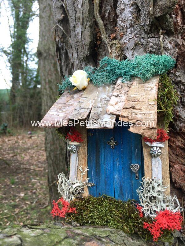 Petite porte de fée bleue
