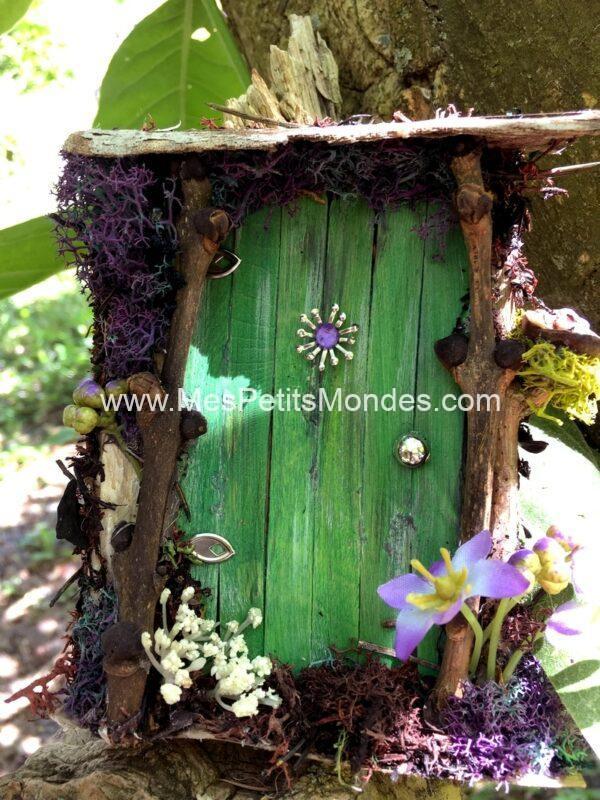 Petite porte de fée verte